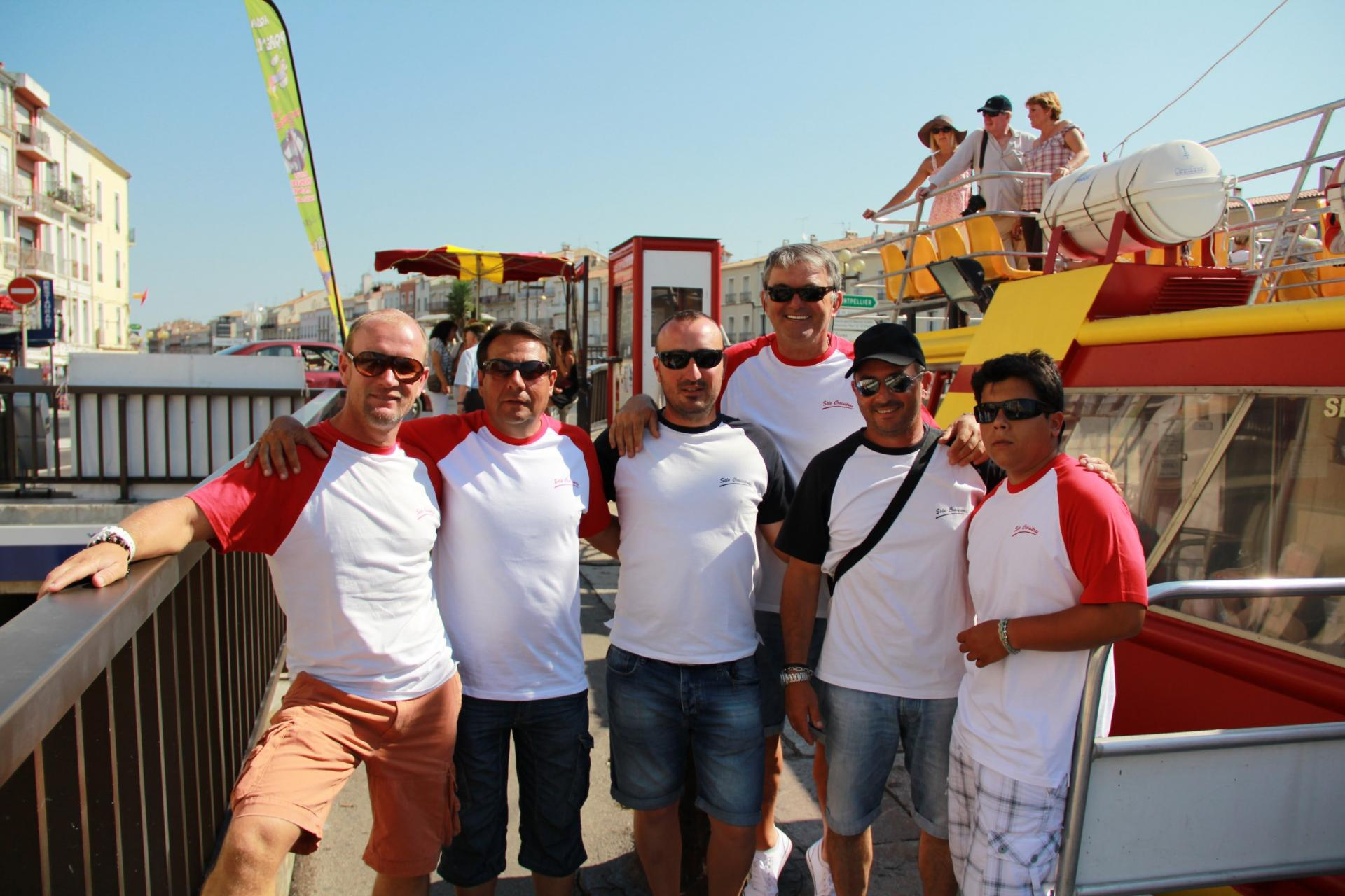 Les capitaines et matelots
