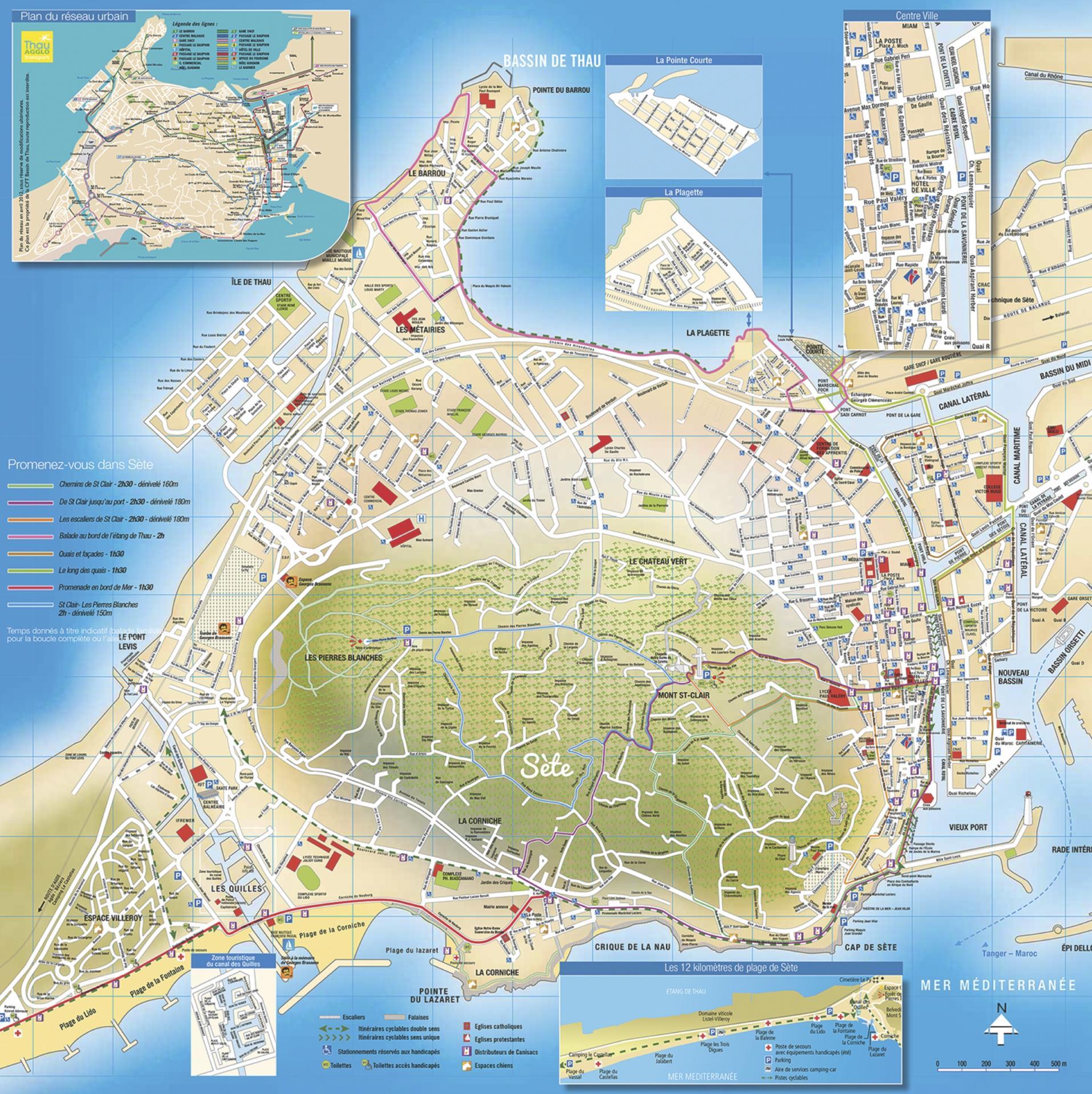 Carte Ville De Sete | My blog